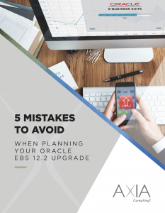 Oracle EBS R12.2 Upgrade 5 Mistakes